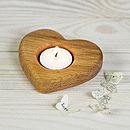 Heart Egg Cup Tealight Holder