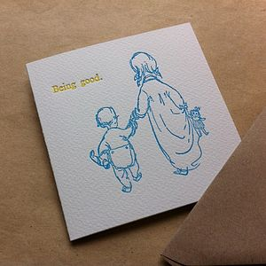 Mother's Day Letterpress Card - mother's day cards