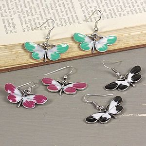 Butterfly Earrings - women's jewellery