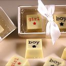 Baby Shower Chocolate Favours