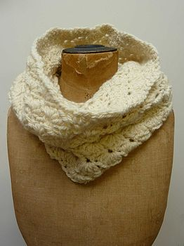 Shell Crochet Snood