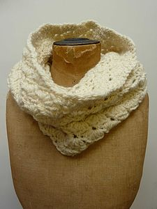 Shell Crochet Snood - hats, scarves & gloves