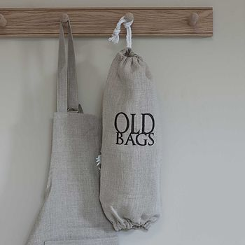 Old Bags Holder Dark Grey