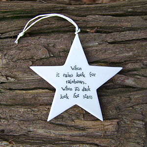 'Wish Upon A Star' Keepsake - decorative accessories