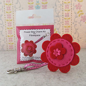 Flower Bag Charm Mini Kit - toys & games
