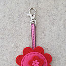 Flower Bag Charm Mini Craft Kit