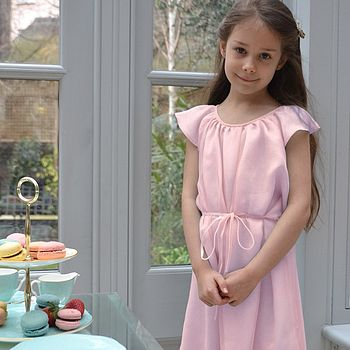 Silk Chiffon Amelie Party Dress