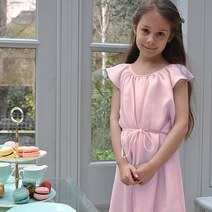 Silk Chiffon Amelie Party Dress - flower girl fashion