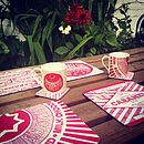 Tunnock's Teacake And Caramel Wafer Placemats