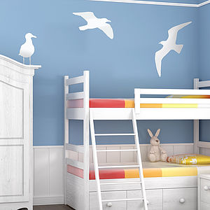 Seagull Vinyl Wall Sticker - decorative accessories