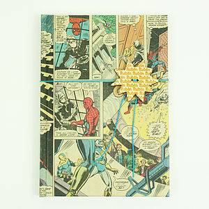 Superhero Comic Notebook - gifts for teenagers