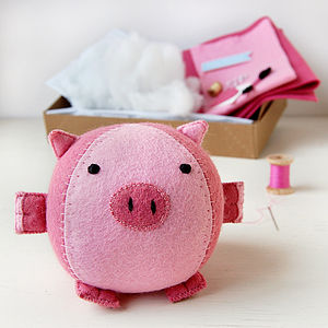 Make Your Own Piglet Craft Kit - gifts for children