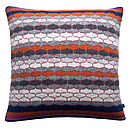 Bricks And Mortar Knitted Cushion