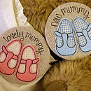 Personalised Baby Shoe Mirror