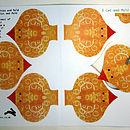 Chicks Cut Out Card