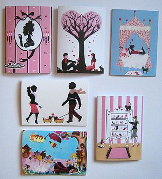 girlie greeting cards 2