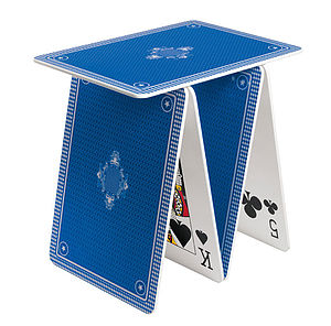 Playing Card Table - gifts for him