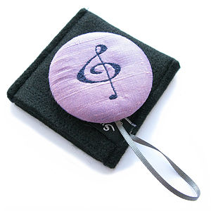 Music Themed Handbag Mirror Compact - beauty accessories