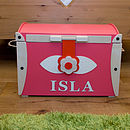 Personalised Toy Storage Box