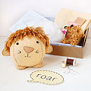 Make Your Own Lion Craft Kit