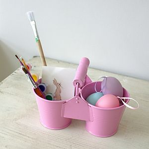 Girl's Enamel Desk Tidy - children's easter
