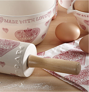 'Love' Heart Rolling Pin