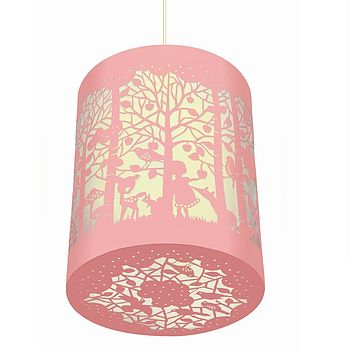 In The Forest Paper Cut Lantern