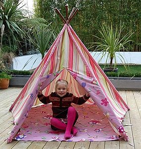 Pink Fairy Wigwam - outdoor toys & games