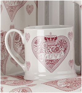 'Love' Heart Mug