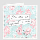 Personalised 'You Are So Special' Card