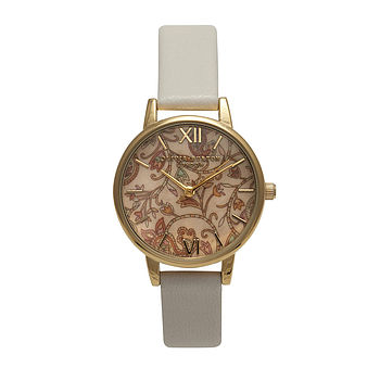 Gold Paisley Design Watch