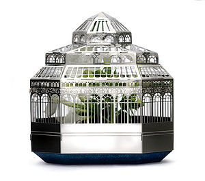 Plantini Mini Model Planthouse Kit - flowers & plants
