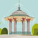 Clapham Bandstand Print