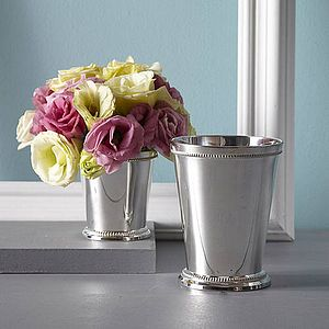 Classic Silver Posy Cup - decorative accessories