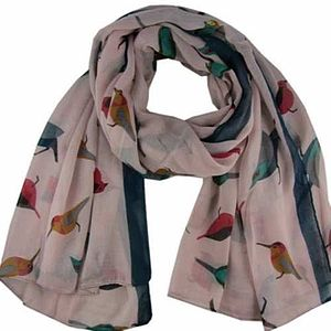 Bird Scarf - women's accessories