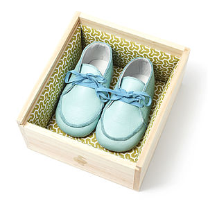 Childrens Lace Up Booties