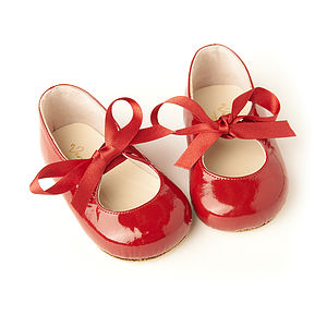 Childrens Mary Jane Patent Shoes - occasion wear