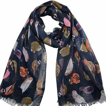 Colourful Bird Scarf