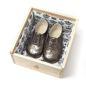 Childrens Classic Brogue Shoes