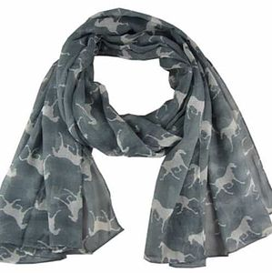 Horses Scarf - women's accessories