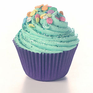 Cupcake Bathbomb - bathroom