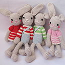 Hand Crochet Bunny Rabbit