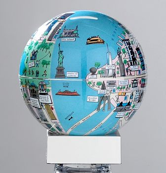 Illustrated New York Money Box