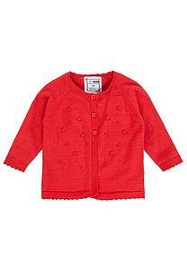 Goja Long Sleeve Knit Cardigan - children's clothing
