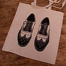 Brogues Shoe Bag