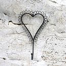 Wire Heart Hook
