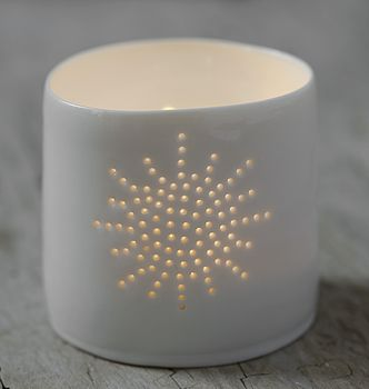 Porcelain Sun Tea Light