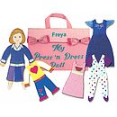 My Personalised Press And Dress Doll