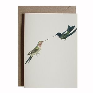 Bird Greetings Card