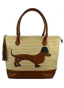 Sausage Dog Day Bag - bags & purses